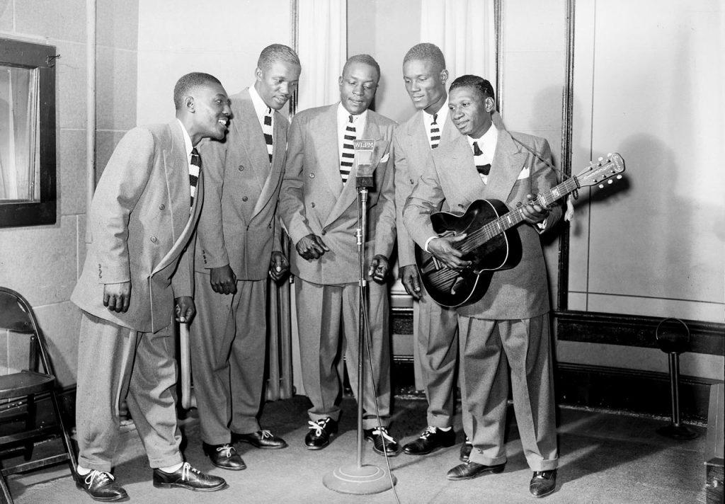 C1:162  Hamblin Studio Photograph Collection.  Suffolk Jubilee Quartet, October 6, 1945  (vdlp_suffolk_ng0088)