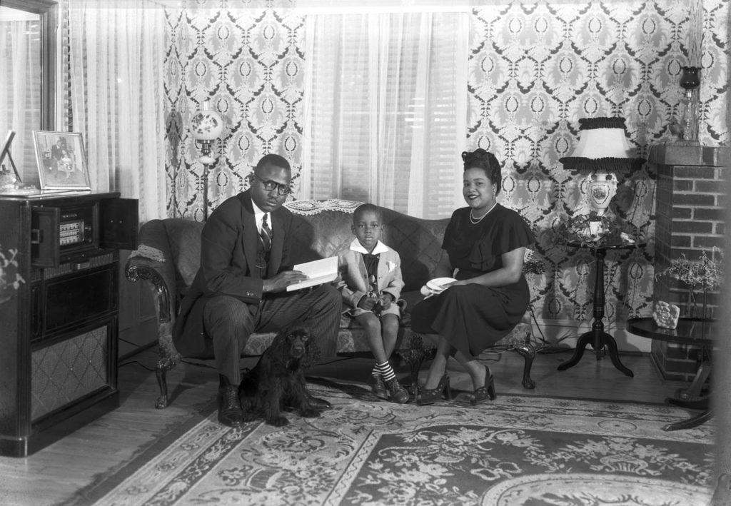 C1:162  Hamblin Studio Photograph Collection.  Rev. James, September 26, 1949  (vdlp_suffolk_ng0202c)