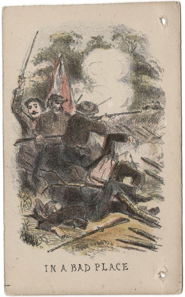 C1: 011 Life Scenes of a Confederate Soldier