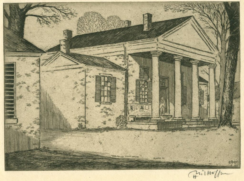 C1:068 H. D. Milhollen Virginia Courthouse Etching and Photograph Collection (LVA 09_0869_019)