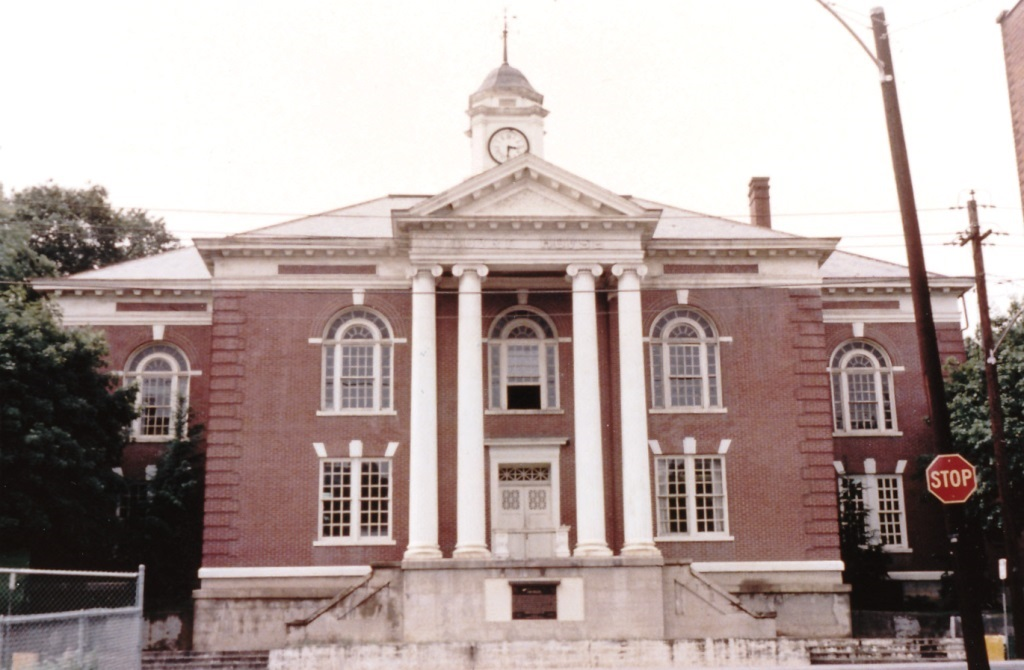 Dickerson County Court House, Clintwood, Virginia. 24 June 1969