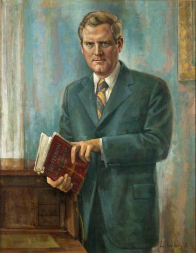 Abner Linwood Holton, by C.L. MacNelly, 1973