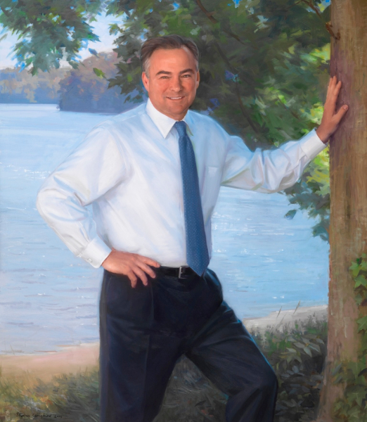 Timothy M. Kaine, by Stephen Craighead, 2009