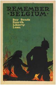 Remember Belgium buy bonds, Fourth Liberty Loan