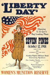 Liberty Day opening U.S. Gov't Bag Loading Plant : Seven Pines
